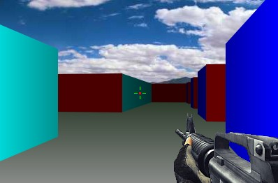 Shooter game in HTML 5